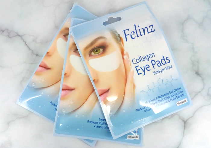 review gratis Kolagen Mata Felinz Collagen Eye Pads