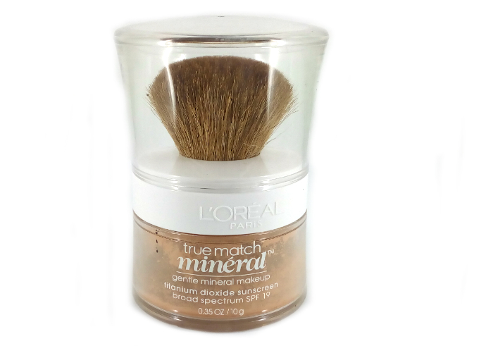 review gratis L'oreal True Match Mineral Foundation Natural Beige