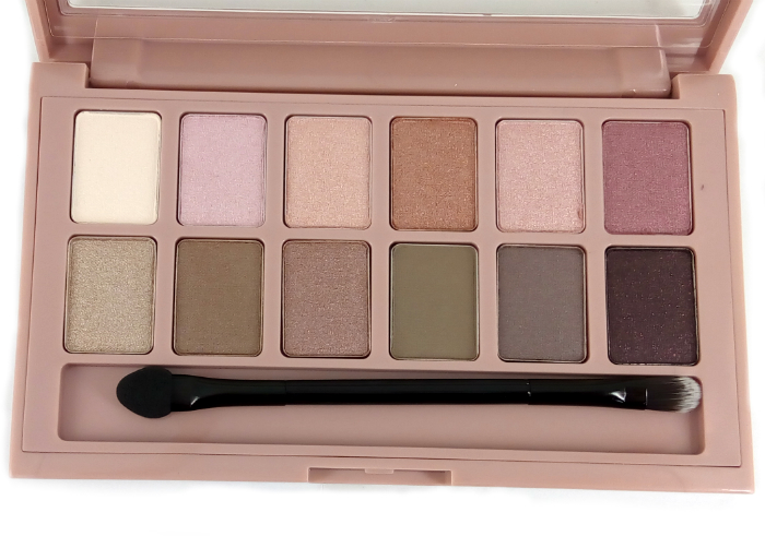 review gratis Maybelline The Blushed Nudes Eyeshadow Palette