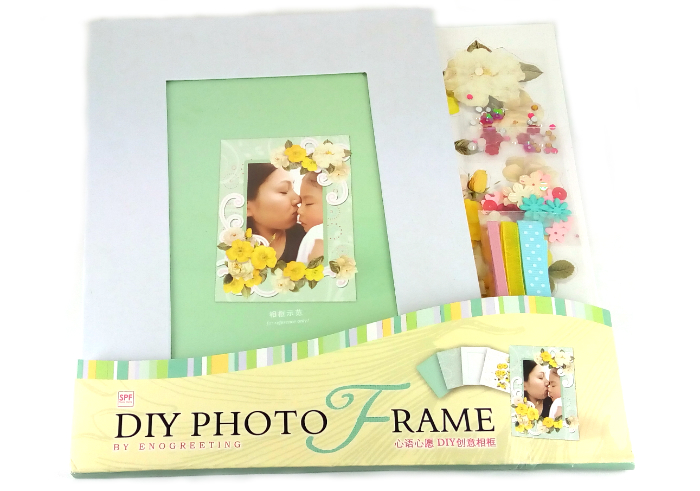 review image Enogreeting DIY Photo Frame