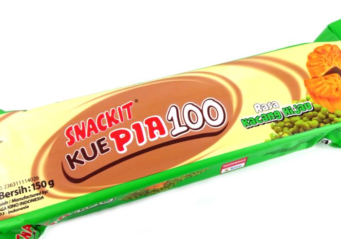 review gratis Snackit Kue Pia 100 Kacang Hijau