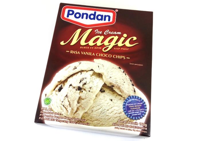review gratis Ice Cream Magic Pondan Vanilla Choco Chips