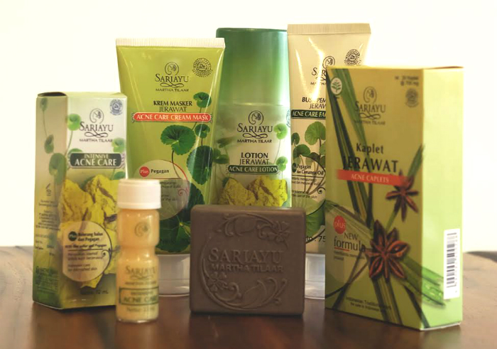 review gratis Sariayu Paket Acne Series