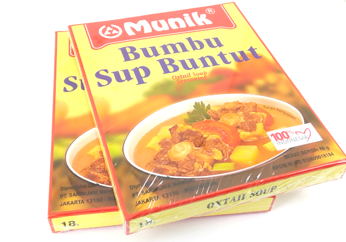 review gratis Bumbu Munik Sup Buntut
