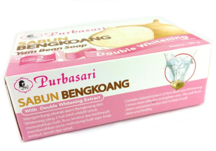 review gratis Purbasari Sabun Bengkoang Double Whitening