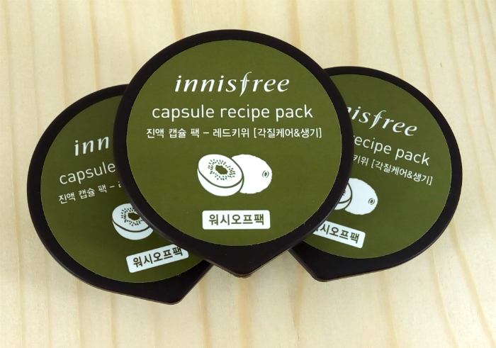 review gratis Innisfree Capsule Recipe Pack Red Kiwi