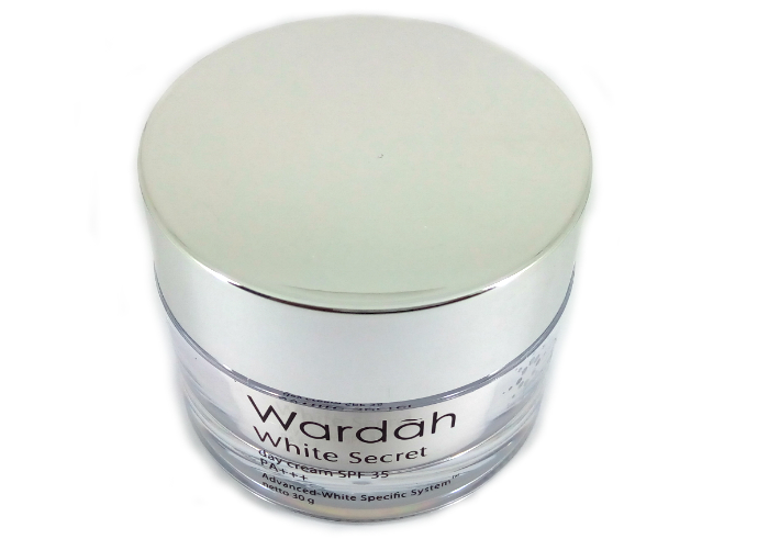 review gratis Wardah White Secret Day Cream