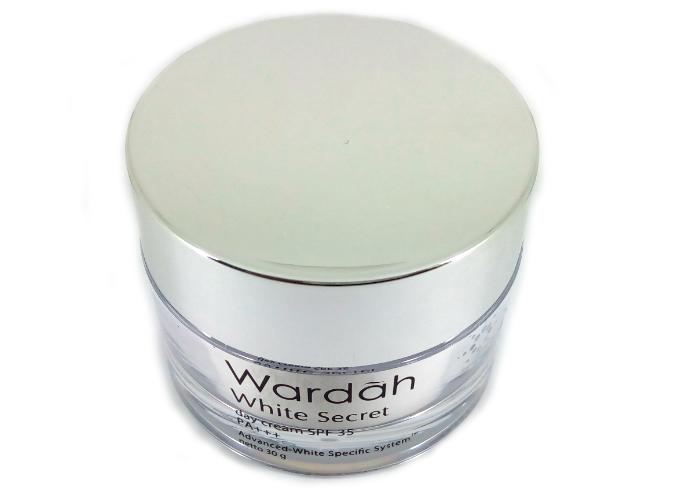 review gratis Wardah White Secret Day Cream