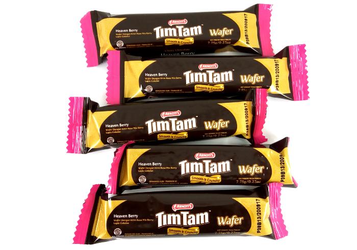 review gratis Tim Tam Heaven Berry Smooth & Crunchy