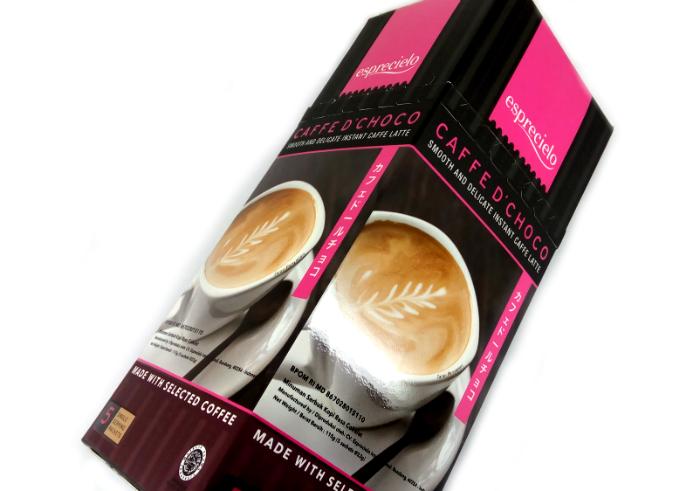 review gratis Esprecielo Caffe D'choco