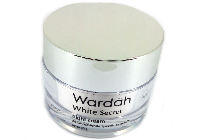 review gratis Wardah White Secret Night Cream