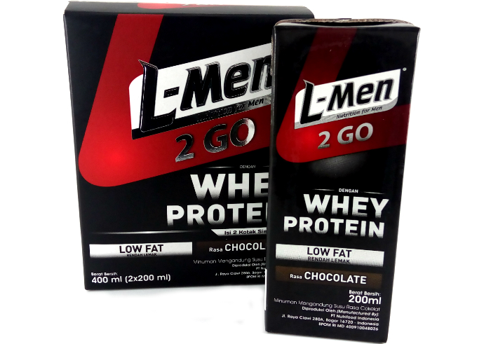 review gratis L-Men 2 Go Chocolate