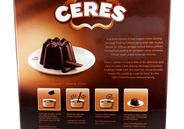 review gratis Bubuk Puding Cokelat Ceres
