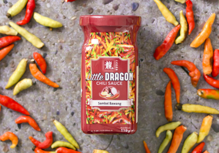 review gratis Sambal Pedas Little Dragon Chili