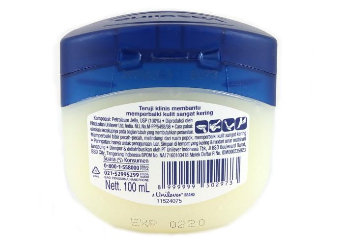 review gratis Vaseline Repairing Jelly