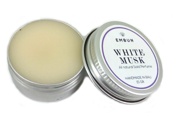 review gratis Embun Natural Solid Parfum White Musk