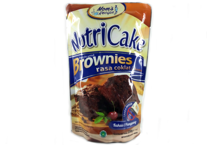 review gratis Nutricake Brownies Coklat