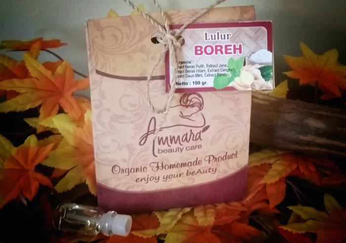 review gratis Lulur Boreh Ammara Beauty Care