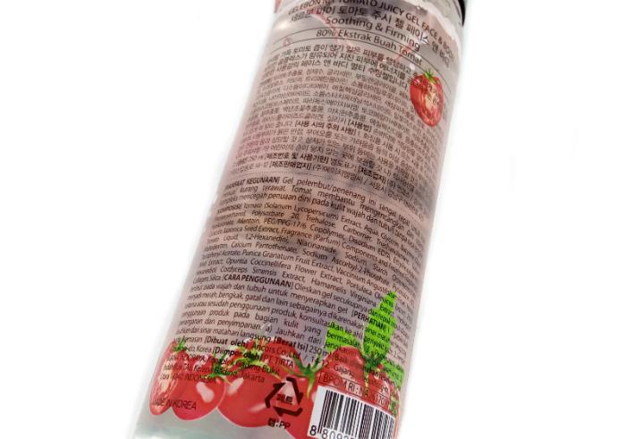 review gratis Celebon My Tomato Juicy Gel