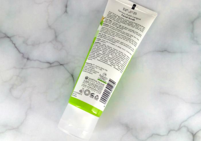 review gratis Sariayu Putih Langsat Facial Scrub