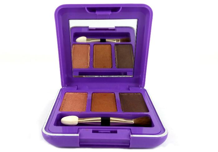 review gratis Mirabella Trio Eyeshadow Lightening Brown