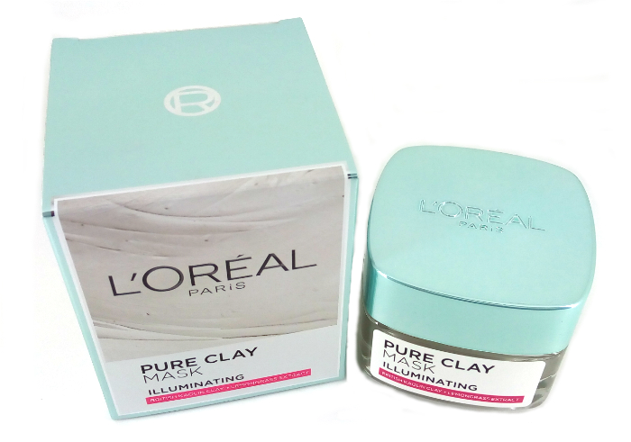 review gratis L'oreal Paris Pure Clay Mask Illuminating