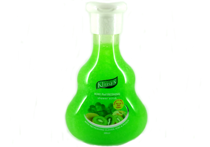 Klinsen Shower Scrub Kiwi Refreshing
