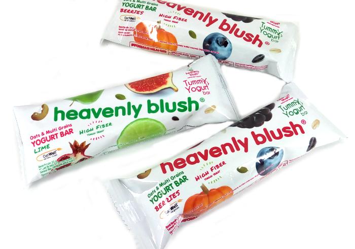 review gratis Heavenly Blush Yogurt Bar