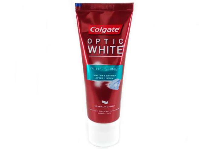 review gratis Colgate Optic White Plus Shine