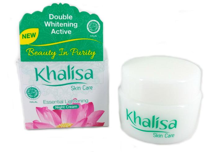 review gratis Khalisa Essential Lightening Night Cream