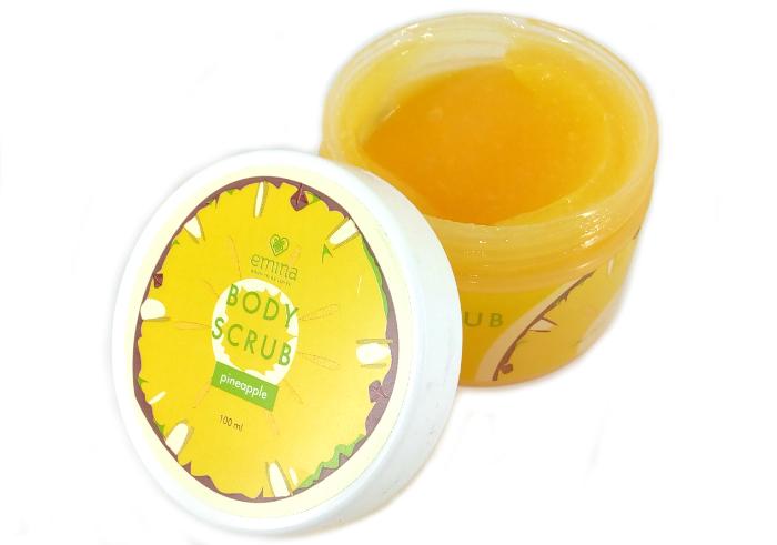 review gratis Emina Body Scrub Pineapple