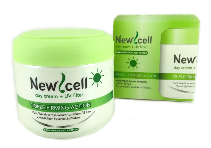 review gratis New Cell Day Cream Plus UV Filter