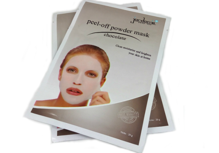review gratis Jordanie Peel Off Powder Mask Chocolate