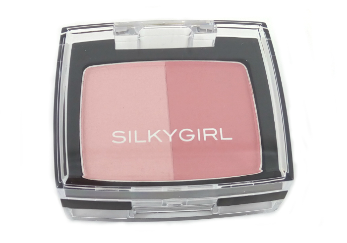 review gratis SilkyGirl Shimmer Duo Blusher Sunny Glow