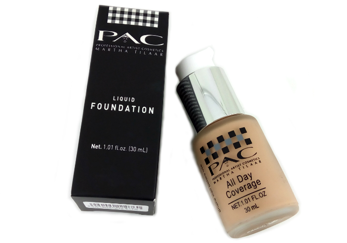 review gratis PAC Liquid Foundation
