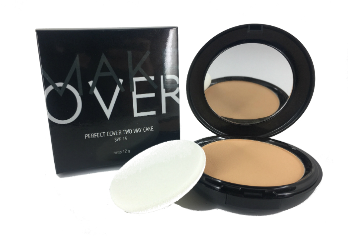 review gratis Make Over Perfect Cover Two Way Cake Desert