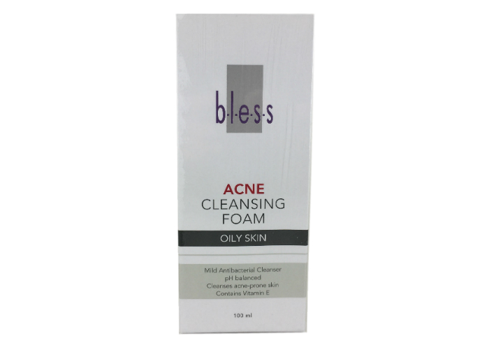 review gratis Bless Acne Cleansing Foam Oily Skin