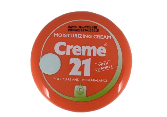 review gratis Creme 21 Moisturizing Cream