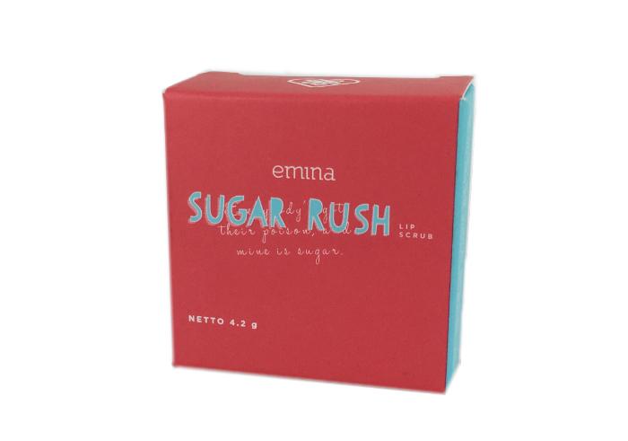 review gratis Emina Sugar Rush Lip Scrub