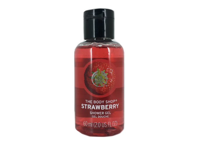review gratis The Body Shop Strawberry Shower Gel
