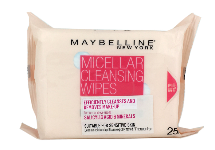 review gratis Maybelline Micellar Cleansing Wipes