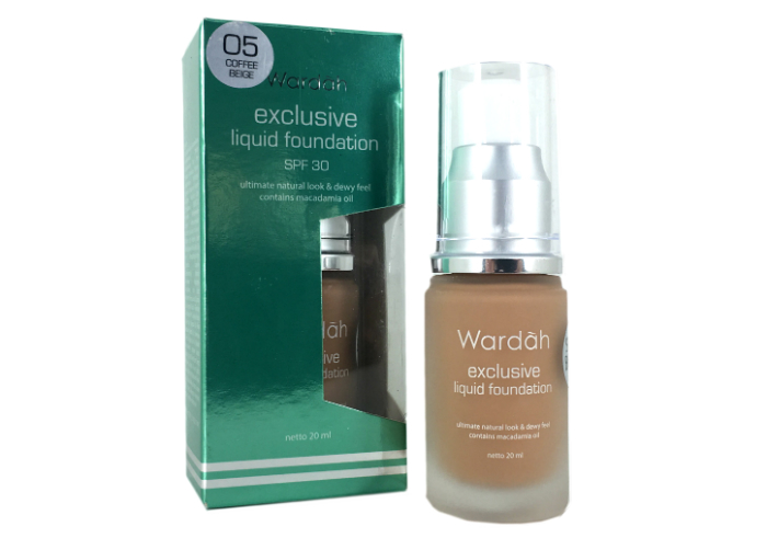 review gratis Wardah Exclusive Liquid Foundation
