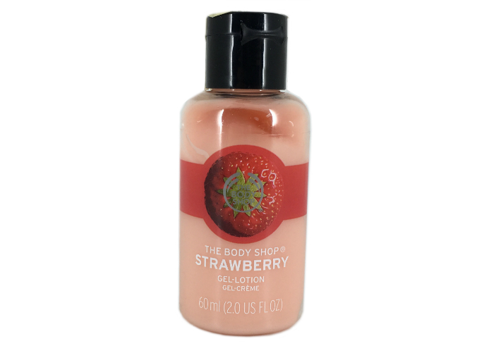 review gratis The Body Shop Strawberry Gel Lotion