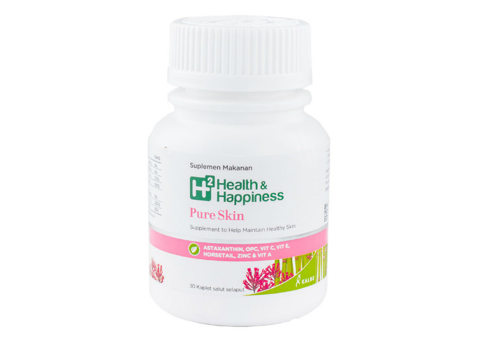review gratis H2 Health & Happiness Pure Skin