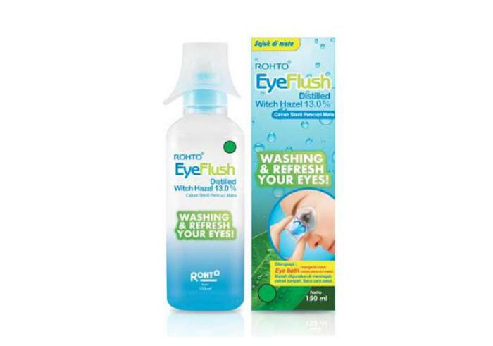 review gratis Rohto Eye Flush
