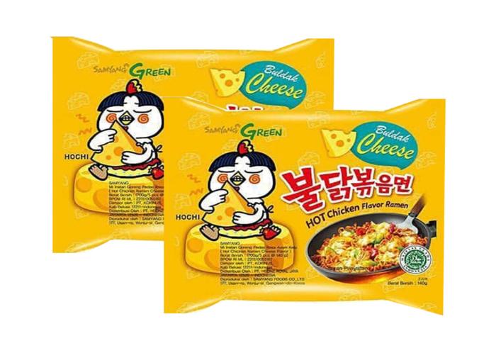 review gratis Samyang Green Hot Chicken Flavor Ramen