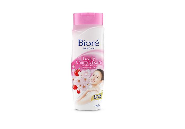 review gratis Biore Body Foam Lovely Cherry Sakura