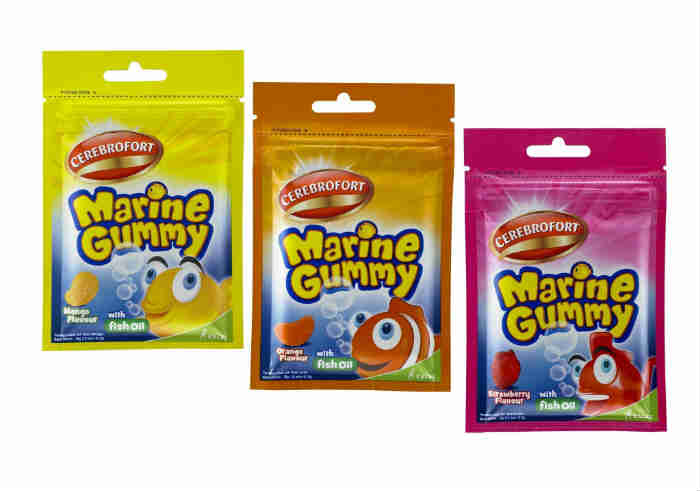 review gratis Cerebrofort Marine Gummy