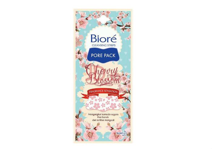 review gratis Biore Pore Pack Cherry Blossom Fragrance Sensation
