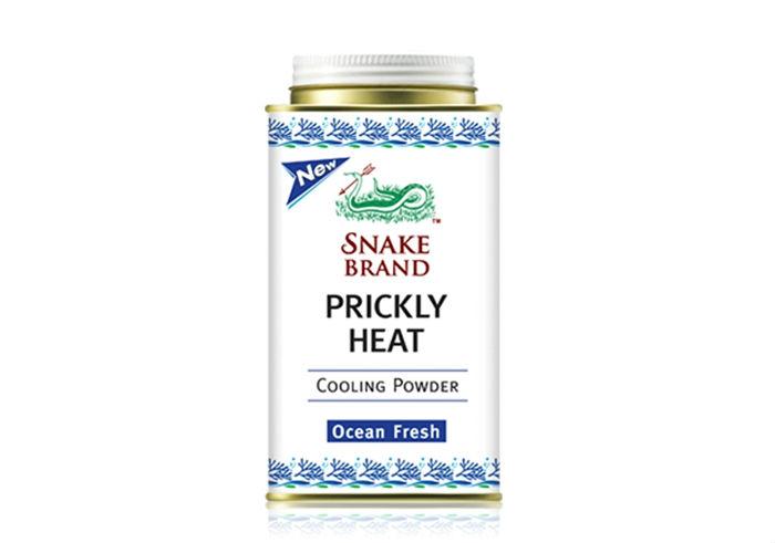 review gratis Snake Brand Prickly Heat Powder Ocean Fresh